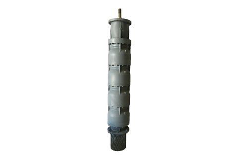 Bombas verticales con motor eje hueco