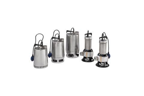 Bombas achique y aguas residuales UNILIF KP, AP, DP, EF, SE